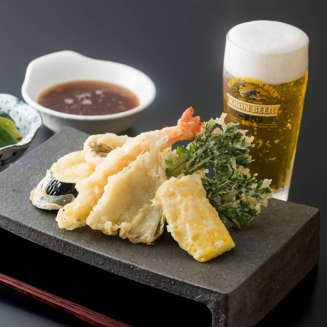 寿天の天ぷらです